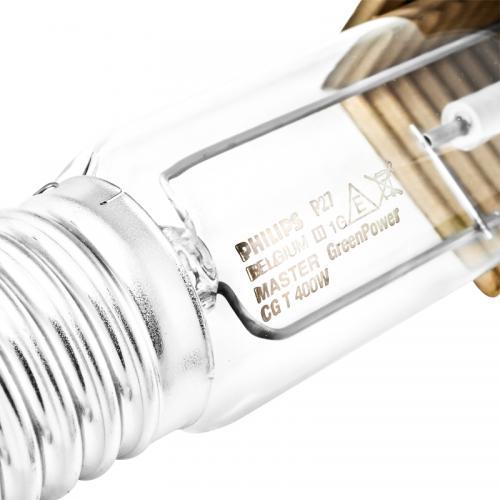 MASTER GreenPower - это натриевые лампы  высокого давления. Керамическая разрядная трубка заключена в прозрачную цилиндрическую внешнюю колбу. Лампа обладает улучшенными  характеристиками ассимиляционного освещения (?mol) и минимальным спадом светового потока.