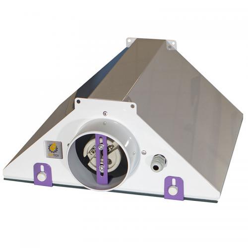 светильник CoolMaster GipoLite 100 используется с лампами ДНАТ, ДРИ. Светильник-моноотражатель для гроутентов