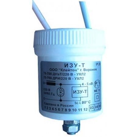 Предназначено для зажигания газоразрядных ламп высокого давления типа ДНаТ и ДРИ мощностью от 50 до 1000Вт при включении их с индуктивным балластом.
