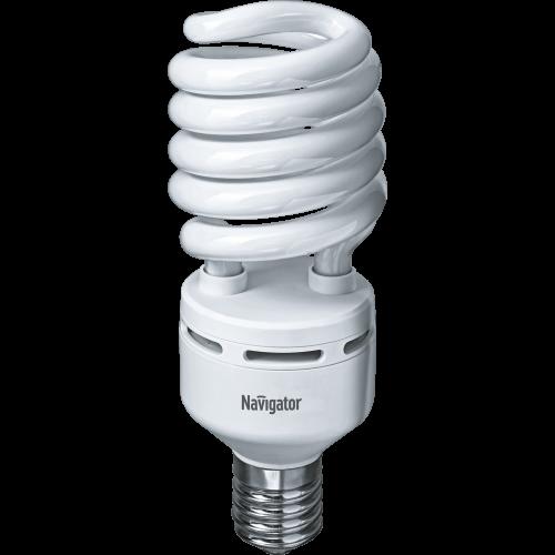 Компактная люминесцентная лампа Navigator NCL-SH-85-840-E40 85Вт Идеально подходит для осветительных приборов, имеющих стандартный патрон Е40. Индустриальная серия. Полуспираль из люминесцентной трубки диаметром 16 мм.