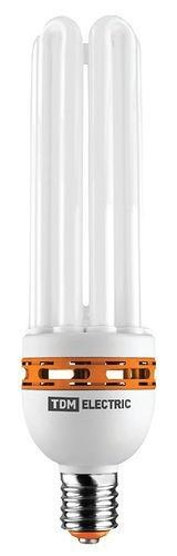 Диапазон рабочих температур — -30…+45 °С Установка ламп не требует использования дополнительных пускорегулирующих устройств и аппаратуры, что значительно удешевляет стоимость организации освещения и упрощает последующую эксплуатацию светильника. Лампы производятся с колбами следующих типов: 4U, 5U, 6U, FS. Лампы представлены в двух цветовых температурах: яркого дневного света 4200 K и мягкого теплого света 2700 К. Лампы мощностью 45 и 55 Вт поставляются с цоколем Е27. Лампы мощностью от 85 до 125 Вт — с цоколем Е40