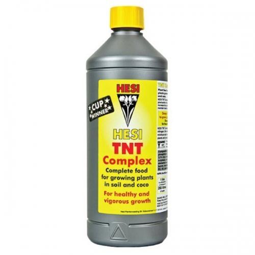 HESI TNT Complex 0.5 L Удобрение для стадии вегетативного роста при выращивании на земле и кокосовом субстрате.
