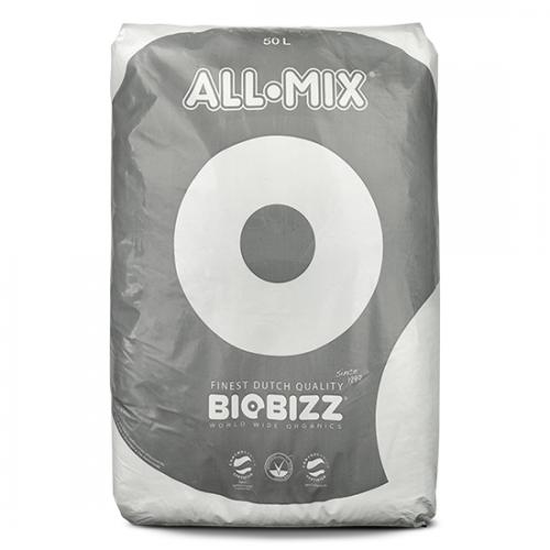 Органическая обогащенная земля BIOBIZZ All-Mix 20 L All-Mix является обогащенной питательными веществами почвенной смесью. Разработана для эмуляции биологически активного плодородного грунта, все реже встречающегося в естественных условиях, способного обеспечить растение всем комплексом активных компонентов и биологической активностью что бы обеспечить пышный рост и бурное развитие растения без внесения удобрений.