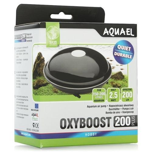 Компрессор AQUAEL OXYBOOST 200 plus двухканальный AQUAEL OXYBOOST PLUS, продолжающие 30-летнюю традицию мембранных насосов производства фирмы Aquael. На фоне других моделей, представленных на рынке, они выделяются современным дизайном, высоким качеством изготовления и большой производительностью.