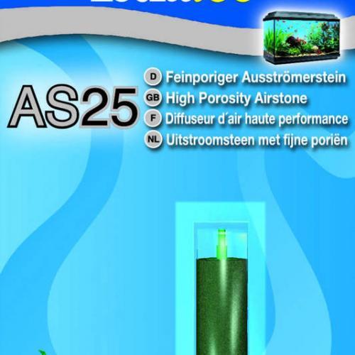 Мелкопористый распылитель для оптимального обеспечения аквариума кислородом.