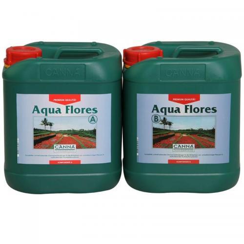 CANNA Aqua Flores A+B, 5 L Двухкомпонентное удобрение для стадии цветения при выращивании в реверсивных (замкнутых) гидропонных системах. CANNA Aqua Flores – идеальное удобрение, в котором содержатся все необходимые элементы для оптимального цветения. Aqua Flores используется при выращивании в реверсивных системах, таких как NFT (техника питательного слоя), DWC (deep water culture - глубоководная культура) или ebb & flow (системы периодического затопления).