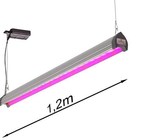 Фитосветильник верхнего света UnionPowerStar-40W-T???????  Данный фитосветильник используется для досветки растений над их макушкой, способствует ускорению роста растений, увеличению урожайности, экономии потребляемой электроэнергии. Может также использоваться, как светильник межрядной досветки.