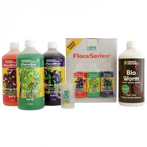 Набор FloraSeries+General Organic 1l