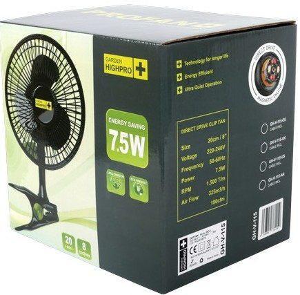 Вентилятор Clip Fan 20см/7.5W