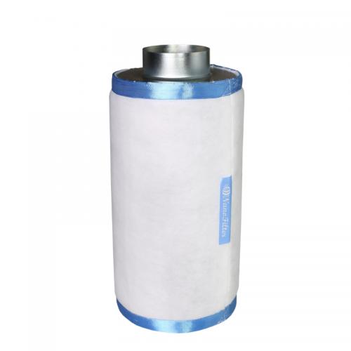 Nano Filter М  350 м3 Воздушные угольные фильтры NanoFilter предназначены для очистки вентиляционных выбросов. Угольный фильтр, встраиваемый в систему приточно-вытяжной вентиляции, обеспечивает очистку воздуха от аллергенных примесей и запахов органического происхождения, и при правильной установке и эксплуатации, гарантируют практически полную очистку. Высококачественный активированный уголь обеспечивает работу фильтра в непрерывном режиме не менее 12 месяцев. Внешний предфильтр подлежит замене каждые 4-6 месяцев.