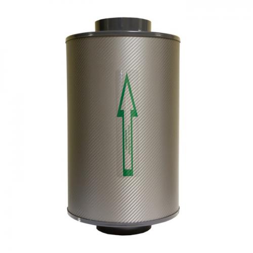Канальный  угольный фильтр КЛЕВЕР - П 250 м3 Предназначен для очистки воздуха от запахов и механических загрязнений.