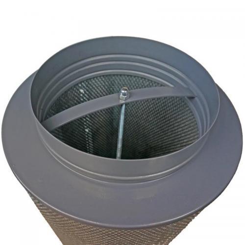 Фильтр угольный КЛЕВЕР - М 2500 м3 Рекомендации по  эксплуатации фильтров КЛЕВЕР: - срок активности угля - 3 года (с момента выпуска угля). - периодичность смены угля - 1-2 раза год (в зависимости от интенсивности эскспуатации). - замену угля можно производить самостоятельно, фильтр легко разбирается. - предфильтр рекомендовано стирать раз в 3-4 месяца. Выдерживает 2-3 стирки, рекомендуемая температура воды 40С.