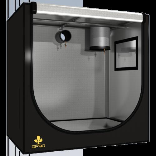 Dark Propogator 90 V2.5 (90х60х65 см) Сборно-разборная конструкция, предназначенная для проращивания семян, рассады, укоренения черенков и т.п. Позволяет моделировать микроклимат внутри палатки изолированно от помещения, в котором она находится.  Водонепроницаемое дно защитит от случайного протекания.