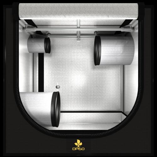 Dark Propagator 60 V 2.6 (60x40x60cm) Сделан из высококачественного светоотражающего материала – «майлар» Вместимость: от  70 до 900 саженцев
