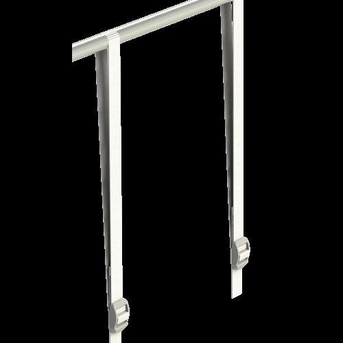 2шт* Ремень 30 см 5 кг Лямка-ремень для крепления оборудования к каркасу тента Secret Jardin – фильтров, гофрированных воздуховодов, вентиляторов и т.п.