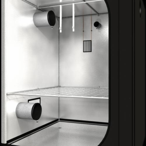 Dark Street v3,0 150x150x200 cm Профессиональный гроутент, сделан из высококачественного светоотражающего материала «Mylar». Диаметр труб каркаса 16 мм, обеспечивает непревзойденную жесткость конструкции.