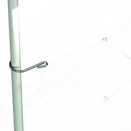 Сетка скрог Web Plant Support 240х120 cm Сеть для поддержки ветвей, их разведение в стороны для лучшей освещенности и т.п.