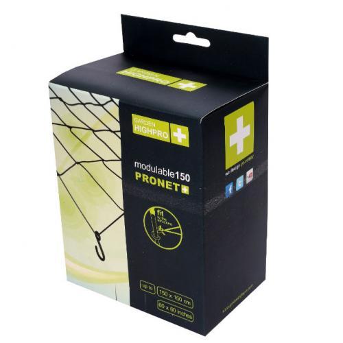 Сетка PRONET MODULABLE 150 Резиновая эластичная сетка с крючками Предназначена для поддержки ветвей, их разведения в стороны для улучшения освещенности и т.п.