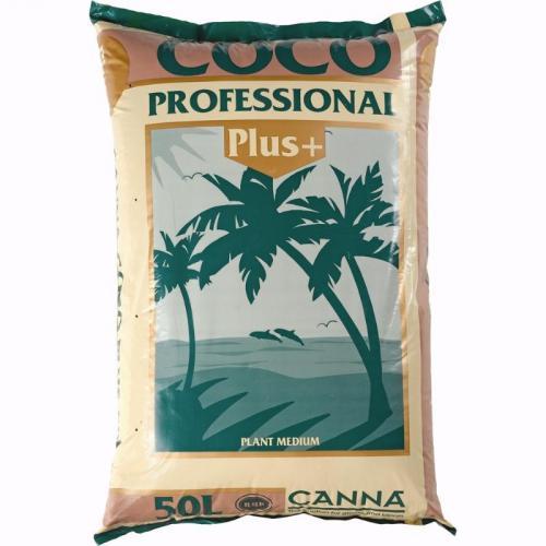 Профессиональный кокосовый субстрат CANNA Coco Professional Plus 50 L CANNA Coco Professional Plus – кокосовый продукт премиум класса, соответствующий жестким стандартам RHP. Отличается от прочих кокосовых субстратов высококачественным сырьем, оптимальной структурой и чистотой.