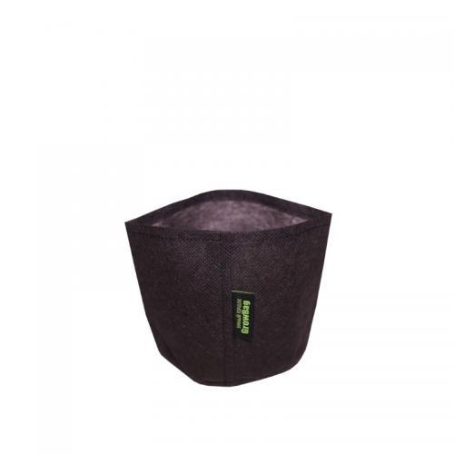 Контейнер для выращивания растений Grow Bag Mini 1л Grow Bag Mini предназначен для выведения рассады и выращивания некрупных растений.  Изготовлен из геотекстиля, который имеет пористую структуру и пропускает воздух и воду. Создает оптимальную среду для развития корневой системы и растения в целом.