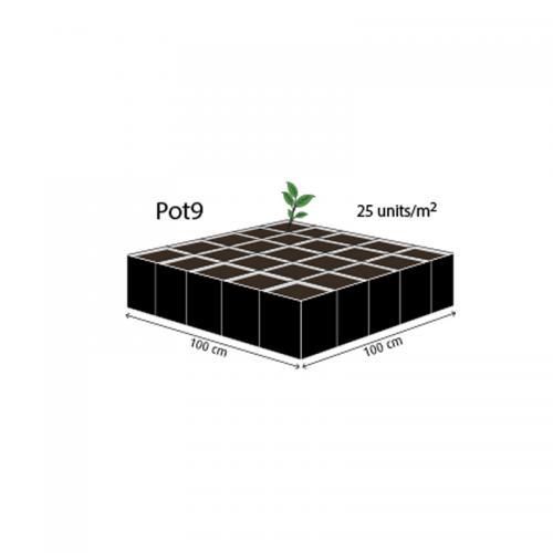 Кокосовый субстрат UGro Pot 9 Rhiza  Pot9 Rhiza представляет собой 900 граммовый брикет кокосового субстрата с 5-ти процентным содержанием эндомикоризы, упакованного в устойчивый к воздействию ультрафиолетовых лучей пластиковый контейнер для выращивания с дренажными отверстиями в основании. Необходимо всего 6 литров воды, чтобы превратить субстрат в 9 литров высококачественного кокосового «торфа». Идеально подходит для всех видов многолетних культур. Можно использовать как в помещении, так и на открытом воздухе.