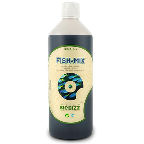 Fish-Mix всегда был «верным другом» садоводов, т.к. способствует стимуляции бактериальной флоры  и усилению роста. Это соединение органической рыбной эмульсии из Северного моря и экстракта голландской сахарной свеклы.