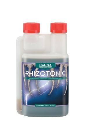Органический стимулятор корнеобразования CANNA RHIZOTONIC, 0.25 L CANNA RHIZOTONIC это сильный, основанный на морских водорослях, растительный стимулятор для корневой системы. 100% натуральный стимулятор, содержащий огромное количество витаминов. Используя RHIZOTONIC, Вы вносите более чем 60 микробиологических видов, которые значительно ускоряют рост и балансируют окружающую среду корня (ризосферу).