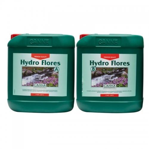Двухкомпонентное удобрение для стадии цветения CANNA Hydro Flores A+B, 5 L (soft water) Двухкомпонентное удобрение для стадии цветения при выращивании в нереверсивных гидропонных системах. Разработано для мягкой воды.