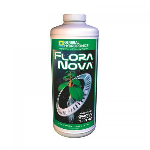 Flora Nova Grow GH 946 ml (t°C) Жидкое удобрение высочайшей концентрации, отлично подходит для всех видов культивирования - гидропоника, аэропоника, почва на стадии роста растения.