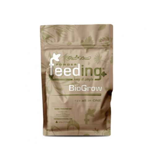 Powder Feeding BIO Grow 0,5 kg BioGrow - это полнорациональное порошковое био-удобрение, специально разработанное для любых видов растений в период вегетации.   Все питательные вещества получены из природных минералов и органического сырья.